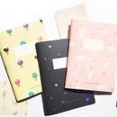 O-CHECK Spring come small dot school notebook