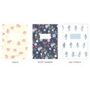 Option - O-CHECK Spring come small blank school notebook