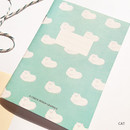 Cat - O-CHECK Spring come small lined school notebook