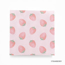 Strawberry - Vintage and cute illustration memo writing notepad