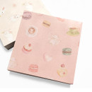 Tea time - Vintage and cute illustration memo writing notepad