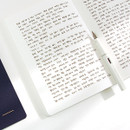 Example of use - Simple B A5 lined soft cover notebook