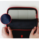 Inner material - Tailorbird embroidered tablet PC iPad zip pouch ver4