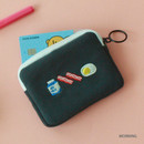 Morning - Wanna This Tailorbird embroidered card case wallet ver4