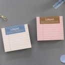 Lined - PAPERIAN Lifepad small writing memo notepad