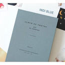Indi blue - Album de photos 4X6 slip in pocket photo album
