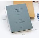 Size of Album de photos 4X6 slip in pocket photo album