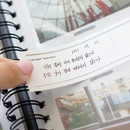 Memo paper - Album de photos 4X6 slip in pocket photo album