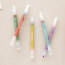 Livework Vintage 10 Colors double ended color gel pen set