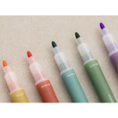 Wide tip - Livework Vintage 10 Colors double ended color gel pen set