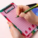 Example of use - Ardium Fruit checklist to do list memo notepad