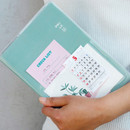 Large size - Ardium Pocket large lined notebook with postcard