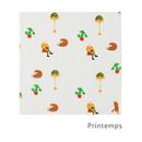 Printemps  - Livework Illustration pattern squared edge hankie handkerchief