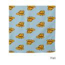 Hat - Livework Illustration pattern squared edge hankie handkerchief