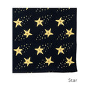 Star - Livework Illustration pattern squared edge hankie handkerchief