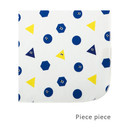 Piece piece - Livework Illustration pattern rounded edge hankie handkerchief