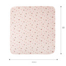 Size - Livework Illustration pattern rounded edge hankie handkerchief