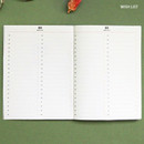 Wish list - ICONIC Flamingo A6 size cash book planner