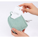 Back pocket - Wanna This Tailorbird embroidered lipstick pouch bag ver3