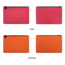 Color - Fenice Premium PU seamless large pouch bag