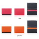 Color - Fenice Premium business PU cover card case pocket