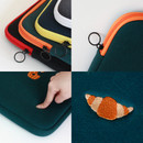 Tailorbird embroidered 15 inches laptop pouch case ver4