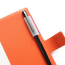 Pen holder - Fenice Premium business PU cover medium dotted notebook