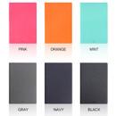 Color - Fenice Premium PU business A5 size notepad holder organizer