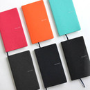 Fenice Premium business PU soft cover small dotted notebook