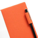 Pen holder - Fenice Premium business PU soft cover small dotted notebook