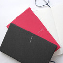 Example of use - Fenice Premium business PU soft cover medium dotted notebook