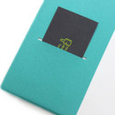Inner pocket - Fenice Premium business PU cover small dotted notebook