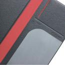 Passport pocket - Fenice Premium PU large passport case holder zipper wallet