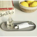 Example of use - Fenice Premium PU leather decorative serving ellipse tray