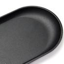 Fenice Premium PU leather decorative serving ellipse tray