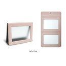 Indi pink - Fenice Premium PU leather two ways magnetic picture frame