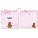 Blossom - Monopoly Toffeenut sweet and warm illustration memo notepad