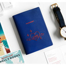 gyou All about travel passport case holder - love