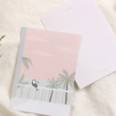 Waikiki dream - My illustration letter always thank you envelope set