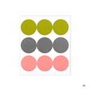 06 - Dailylike Color 22mm circle deco sticker 4 sheets