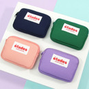 Etudes zipper card case wallet ver2