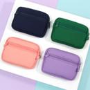 Back - Second Mansion Etudes zipper card case wallet ver2