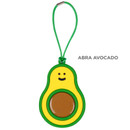 Abra Avocado - 90s coolkids party fake food travel luggage name tag
