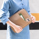 Example of use - Livework Som Som pocket tablet iPad zip fabric pouch
