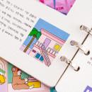 Example of use - Ardium Square paper point deco sticker