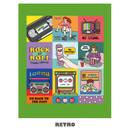 Retro - Ardium Square paper point deco sticker