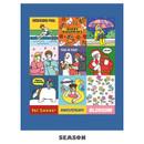 Season - Ardium Square paper point deco sticker