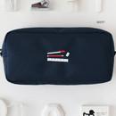 Navy - 2NUL Bulky zipper pencil case pen pouch