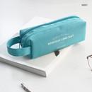 Mint - ICONIC Bonheur constant double zipper pencil case pen pouch