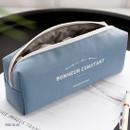 Indi blue - ICONIC Bonheur constant zipper pencil case pen pouch